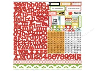 June Tailor 3 Sheets: Echo Park Sticker 12 x 12 in. For The Record 2 Tailored Collection Alpha (15 sets)
