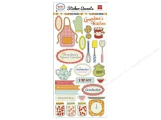 Echo Park Sticker 6x12 Grandma's Kitchen (15 set)