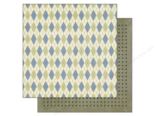 Clearance Blumenthal Favorite Findings: Echo Park 12 x 12 in. Paper Grandpa's Tool Shed Argyle (15 piece)