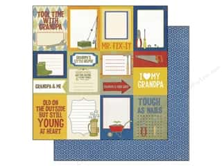 Echo Park 12 x 12 in. Paper Grandpa's Journaling (15 piece)