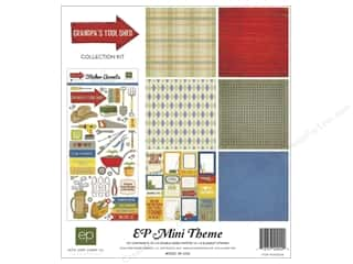 "Echo Park Collection Kit 12""x 12"" Grandpa's Tool Shed"