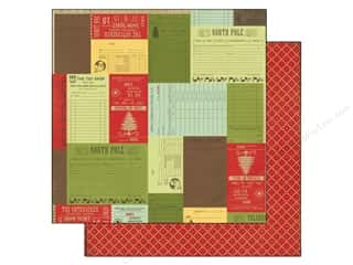 Echo Park Paper 12x12 This &amp; That Xmas Receipts (25 piece)