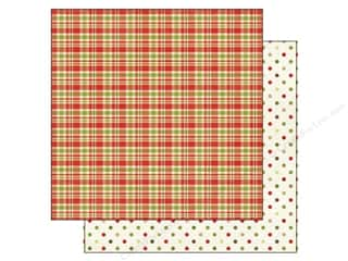 Echo Park Paper 12x12 This &amp; That Xmas Plaid Dots (25 piece)
