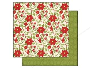 Echo Park Paper 12x12 This & That Xmas Poinsettias (25 piece)