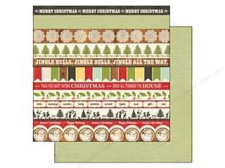 Echo Park 12 x 12 in. Paper Christmas Borders (25 piece)