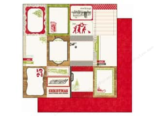 Echo Park Paper 12x12 This &amp; That Xmas Journaling (25 piece)