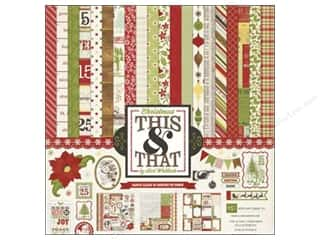 Echo Park Collection Kit 12&quot;x 12&quot; This &amp; That Xmas
