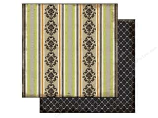 Echo Park 12 x 12 in. Paper Damask Stripe (25 piece)