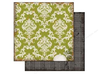 Echo Park Paper 12x12 Chillingsworth Manor Green (25 piece)