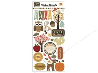 Echo Park Sticker 6&quot;x 12&quot; Fall Fever (15 set)