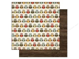 Clearance Blumenthal Favorite Findings: Echo Park 12 x 12 in. Paper Fall Fever Owl (15 piece)