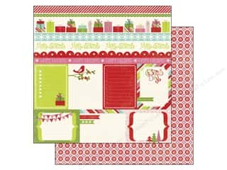 Clearance Blumenthal Favorite Findings: Echo Park 12 x 12 in. Paper Happy Holidays Journaling (15 piece)
