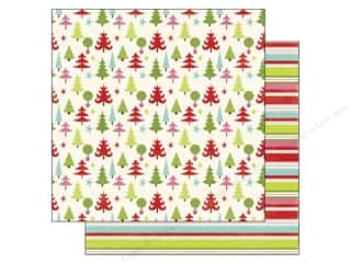 Echo Park Paper 12x12 Happy Holidays Trees (15 piece)