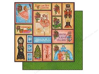 Graphic 45 Paper 12x12 Nutcracker Sweet HolidayMag (25 piece)