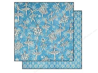 Graphic 45 Paper 12x12 Nutcracker Sweet Snow Waltz (25 piece)