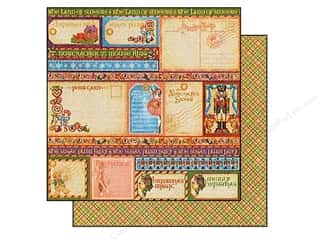 Graphic 45 Paper 12x12 Nutcracker Sweet Esentiment (25 piece)