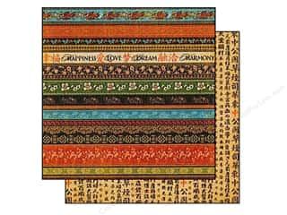 Graphic 45 Paper 12x12 Bird Song Good Fortune (25 piece)