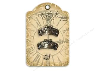 Graphic 45 Graphic 45 Sticker: Graphic 45 Staples Antique Metal Door Pull