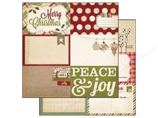 Simple Stories Paper 12 x 12 in.  Holiday Card Elements #1 (25 piece)