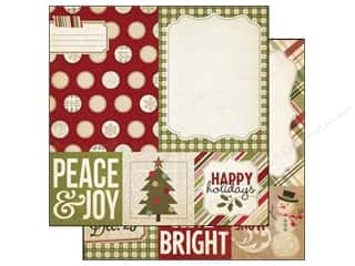 Simple Stories Holiday Sale: Simple Stories Paper 12 x 12 in. Handmade Holiday Quote/Photo Mat Elements (25 pieces)