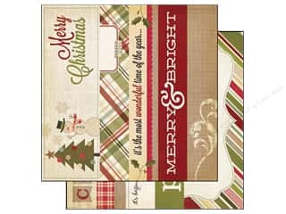 Simple Stories Papers: Simple Stories Paper 12 x 12 in. Handmade Holiday Border/Title Strip Elements (25 pieces)