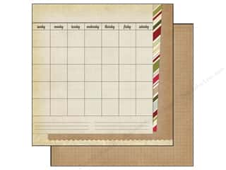 Simple Stories Paper 12 x 12 in. Handmade Holiday Calendar (25 piece)