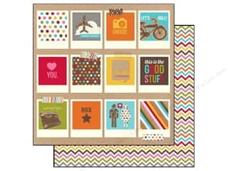 Simple Stories Paper 12x12 Snap Life Polaroids (25 piece)