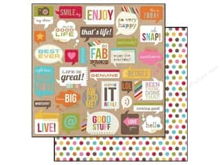 Simple Stories Paper 12x12 Snap Life Bubbles (25 piece)