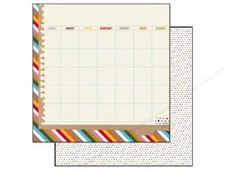 Simple Stories Paper 12x12 Snap Life Calendar (25 piece)