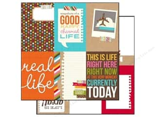 Simple Stories Paper 12 x 12 in. Snap Life Vertical Card (25 piece)