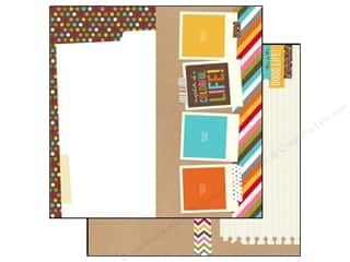 Simple Stories Paper 12x12 Snap Life Page Elements (25 piece)