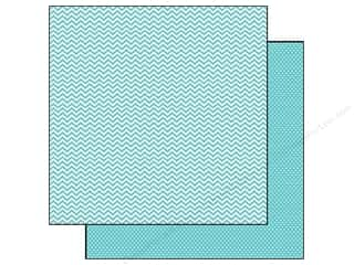 Simple Stories Paper 12x12 Snap CVibe Chv/Dot Teal (25 piece)