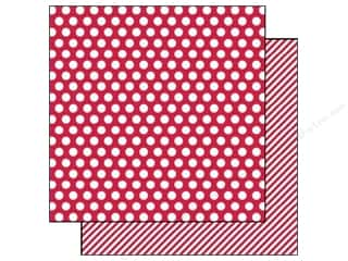 Simple Stories Paper 12x12 Snap CVibe Dot/St Red (25 piece)