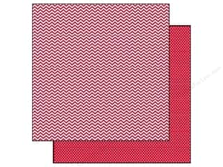 Simple Stories Paper 12x12 Snap CVibe Chv/Dot Red (25 piece)