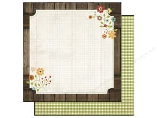 Simple Stories Paper 12 x 12 in. Harvest Lane Homespun (25 piece)