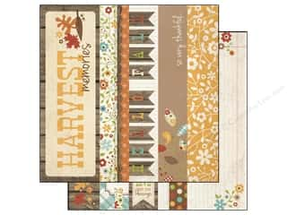 Simple Stories Paper 12 x 12 in. Harvest Lane Border/Title (25 piece)
