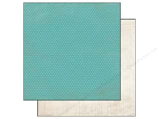 Simple Stories Paper 12 x 12 in. Harvest Lane Teal/Ledger (25 piece)