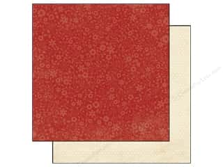 Simple Stories Paper 12 x 12 in. Harvest Lane Red Floral (25 piece)