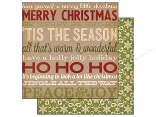 Simple Stories Paper 12 x 12 in. Handmade Holiday Cheer (25 piece)