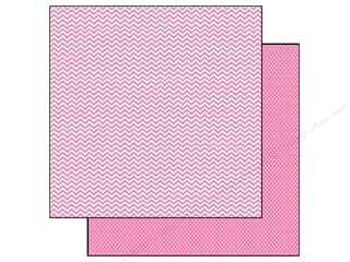 Simple Stories Paper 12x12 Snap CVibe Chv/Dot Pink (25 piece)