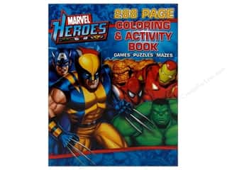 Coloring & Activity Marvel Heroes Book