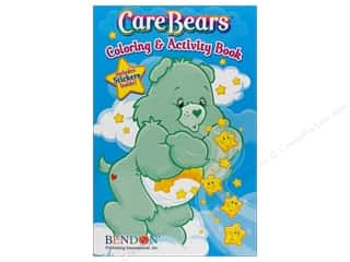 $0-$3 Books Clearance: Coloring & Activity Sticker Care Bears Book (3 piece)