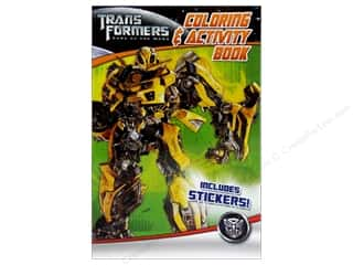 Coloring & Activity Book with Stickers Transformers 3 (3 piece)