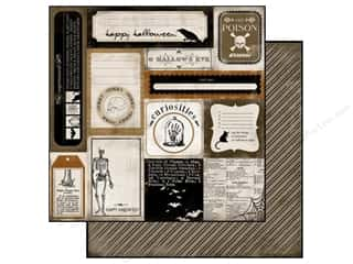 Carta Bella Paper 12x12 All Hallows Eve Curiosity (25 piece)