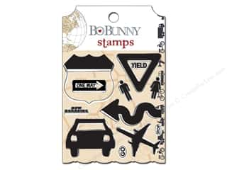 Bo Bunny Clear Stamps Detour