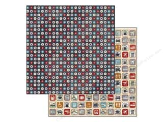 Bo Bunny Paper 12x12 Detour Dots (25 piece)