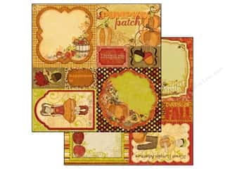 Bo Bunny Paper 12x12 Apple Cider Cut Outs (25 piece)