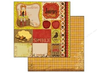 Bo Bunny Paper 12x12 Apple Cider Journey (25 piece)