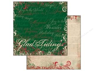 Bo Bunny Paper 12x12 Rejoice Glad Tidings (25 piece)