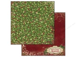 Bo Bunny Paper 12x12 Rejoice Holly (25 piece)